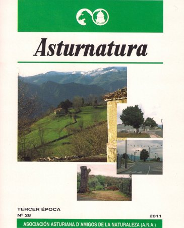 portada asturnatura nº 28. Año 2011